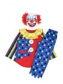 Kids Clown Fancy Dress Outfit
