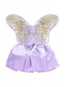 Kids Lilac Butterfly Fancy Dress Outfit