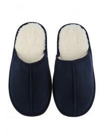 Boys Blue Mule Slippers
