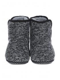 Boys Black Slipper Boots