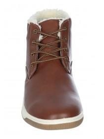 Mens Tan High Top Boots