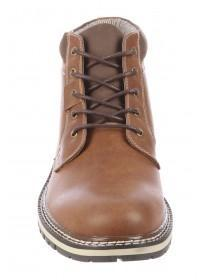 Mens Brown Lace Up Boots