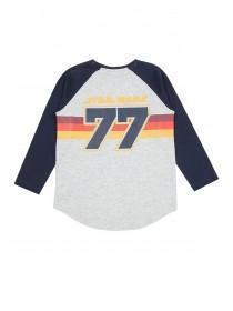 Younger Boys Grey Retro Star Wars T-Shirt