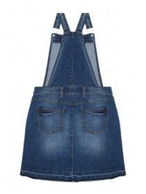 Older Girls Blue Denim Pinafore Dress