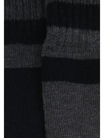 Mens 2pk Black Thermal Socks