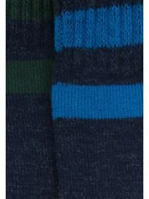 Mens 2pk Navy Thermal Socks