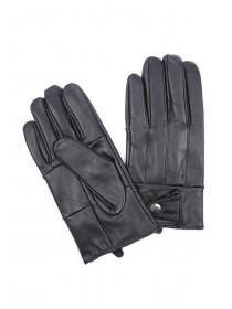 Mens Black Leather Gloves Gift Box