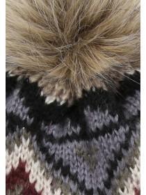 Mens Multicolour Beanie Hat