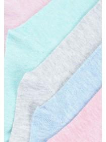 Girls 5pk Pastel Socks