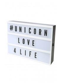 Light Up Colour Changing Message Board
