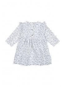 Baby Girls Cream Spot Dress