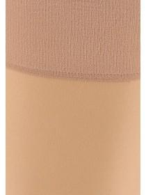 Womens Natural 2pk Cushion Sole Knee Highs