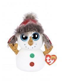 Kids TY Christmas Snowman Beanie Boo