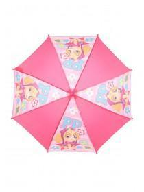 Younger Girls Pink Paw Patrol Umbrella