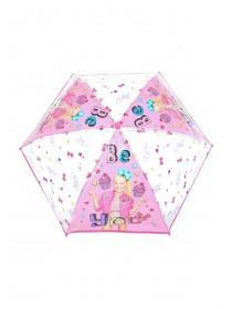 Younger Girls Pink Jo Jo Umbrella