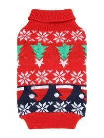 Pets Fairisle Christmas Jumper