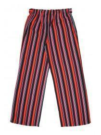 Older Girls Red Stripe Trousers