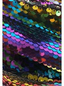 Womens Rainbow Sequin Headband