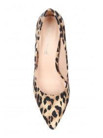 Womens Leopard Print Court Heels