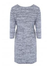 Maternity Grey Cosy Drawstring Dress