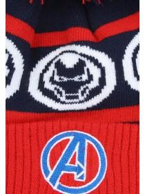 Younger Boys Red Avengers Hat