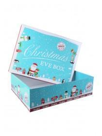 Small Blue Christmas Eve Box
