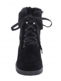 Womens Black Hiker Boots