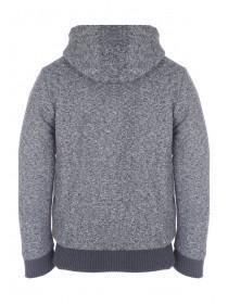 Mens Charcoal Texture Hoody