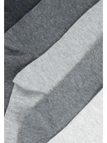 Womens 5pk Grey Premium Socks