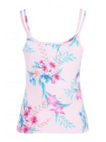 afd0346c10fc1d ... Womens Pink Bird Print Cami Pyjama Top