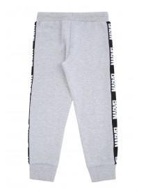 Younger Boys Grey Marvel Joggers