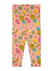 8885b2c2a8d37b Younger Girls Coral Fruit Leggings Younger Girls Coral Fruit Leggings ...