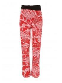 2a4978284e9b7 Maternity Red Leaf Palazzo Trousers Maternity Red Leaf Palazzo Trousers