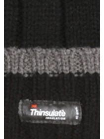 Mens Thinsulate Hat and Glove Set