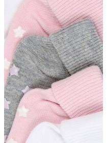 Baby Girls 5pk Plain Socks