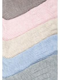 Womens 5pk Comfort Top Socks
