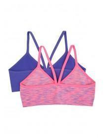 Girls 2PK Seam Free Crop Top
