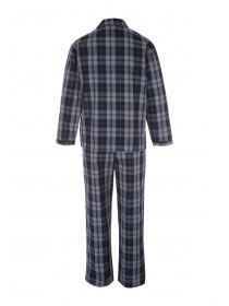 Mens Black Check Pyjamas