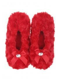 Womens Red Ballet Slipper