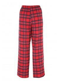 Womens Woven Check Pants