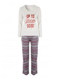 Womens Up to Snow Good Pyjama Set