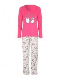 Womens Jersey Pyjama Set