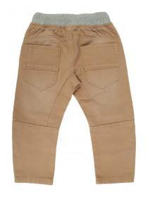 Younger Boys Tan Pull On Trousers