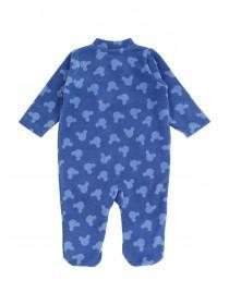 Baby Boy Mickey Fleece Sleepsuit