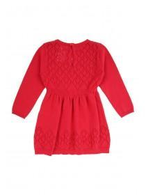Baby Girl Pointelle Knitted Dress