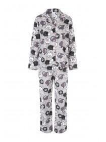 Womens Printed Wincy Pyjamas