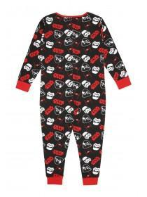 Boys Black Star Wars Onesie