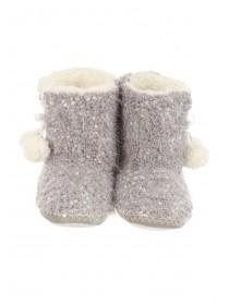 Womens Popcorn Slipper Boots