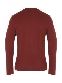 Mens Long Sleeve Grandad Tee