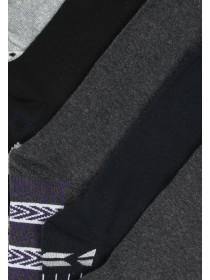 Mens 5pk Design Socks